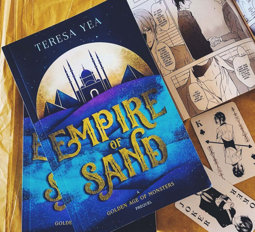 Empire of Sand, Golden Age of Monsters book