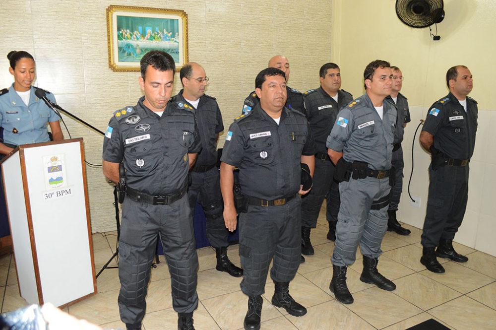 Troca de comando do 30º BPM conta com presença de autoridades civis, judiciárias e militares
