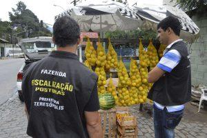 Comércio irregular: Prefeitura intensifica fiscalização