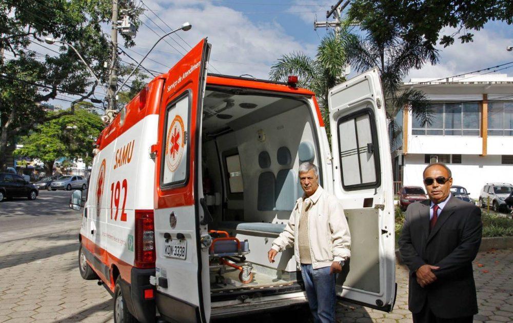 Parceria garante recuperação de ambulância para o Município