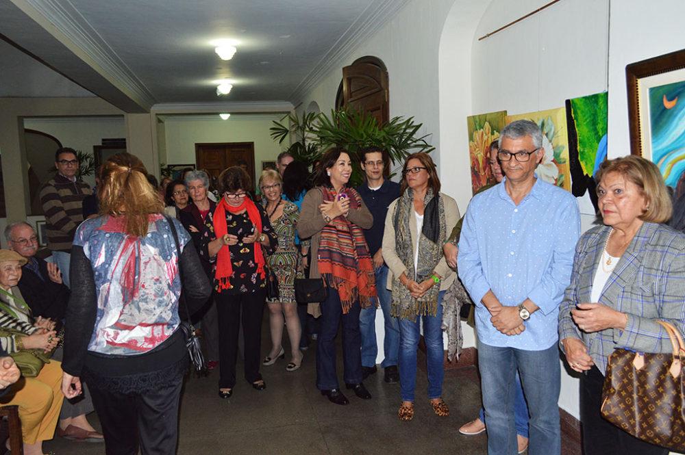 """""""Galeria Soarte Artista Sami Mattar"""" é inaugurada na Prefeitura"""