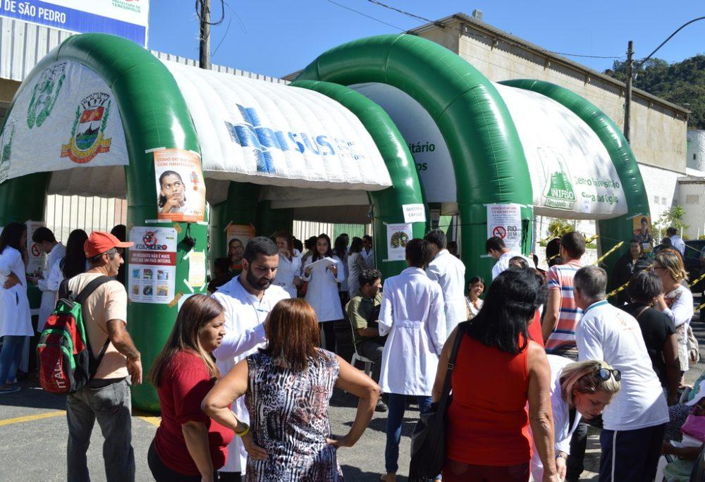 Ação de saúde realiza cerca de 500 atendimentos em São Pedro