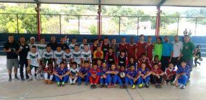 Torneio de futsal reúne equipes sub-15 no ginásio de Albuquerque