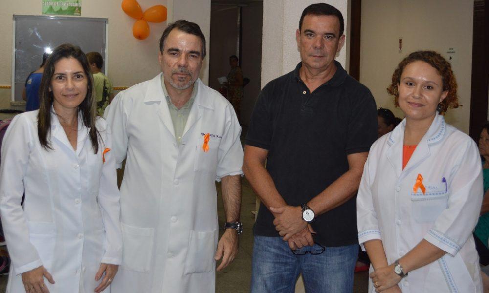 Centro de saúde alerta pacientes contra o câncer de pele