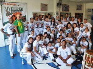 Evento '24 Horas de Capoeira' reúne atletas de várias cidades em Teresópolis