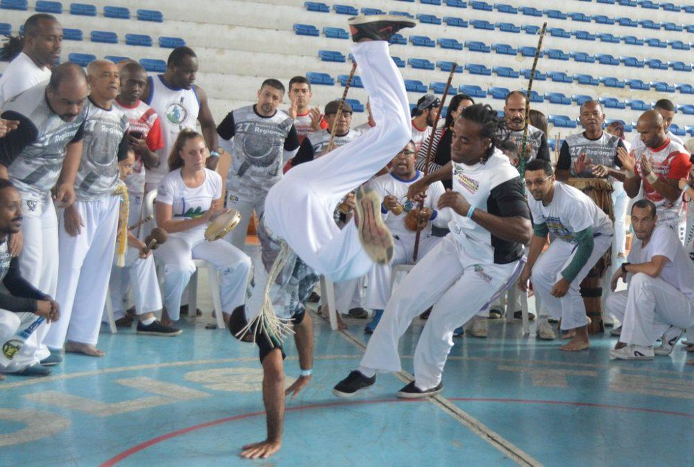 Teresópolis recebe mestres, contramestres e alunos de vários estados no 27º Encontro de Capoeira Regiangola