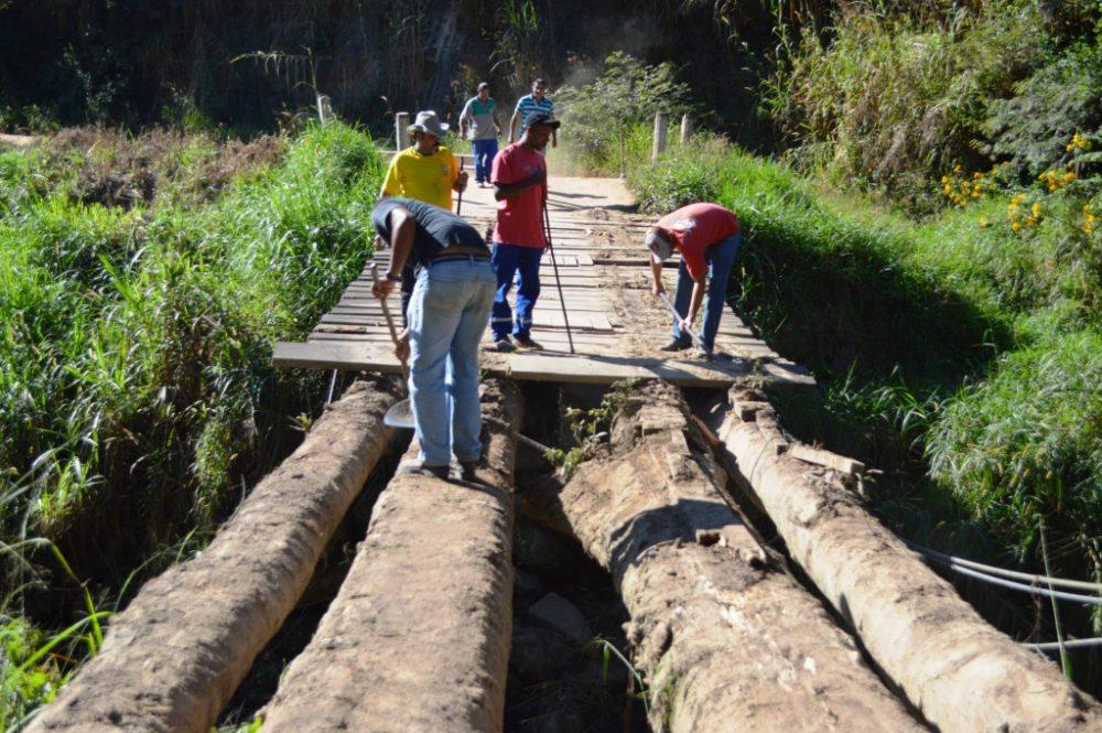 Prefeitura recupera Ponte do Madruga