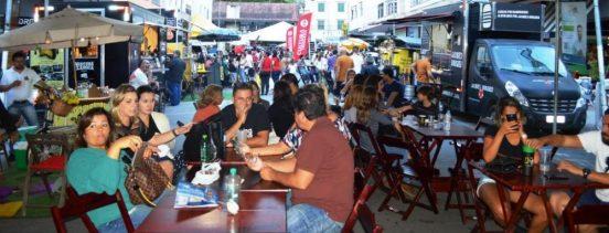 Público se diverte com as mais variadas atrações do 'Serveja'