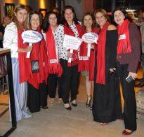 Integrantes do Polo Gastronômico e Sebrae na festa de lançamento do festival Sabores Britânicos de Teresópolis