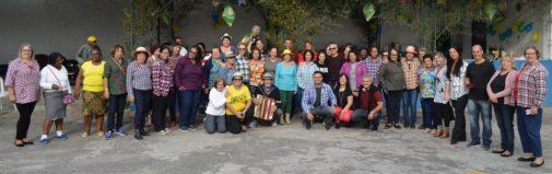 Festa Junina promover interação entre os alunos de alongamento da SMEL