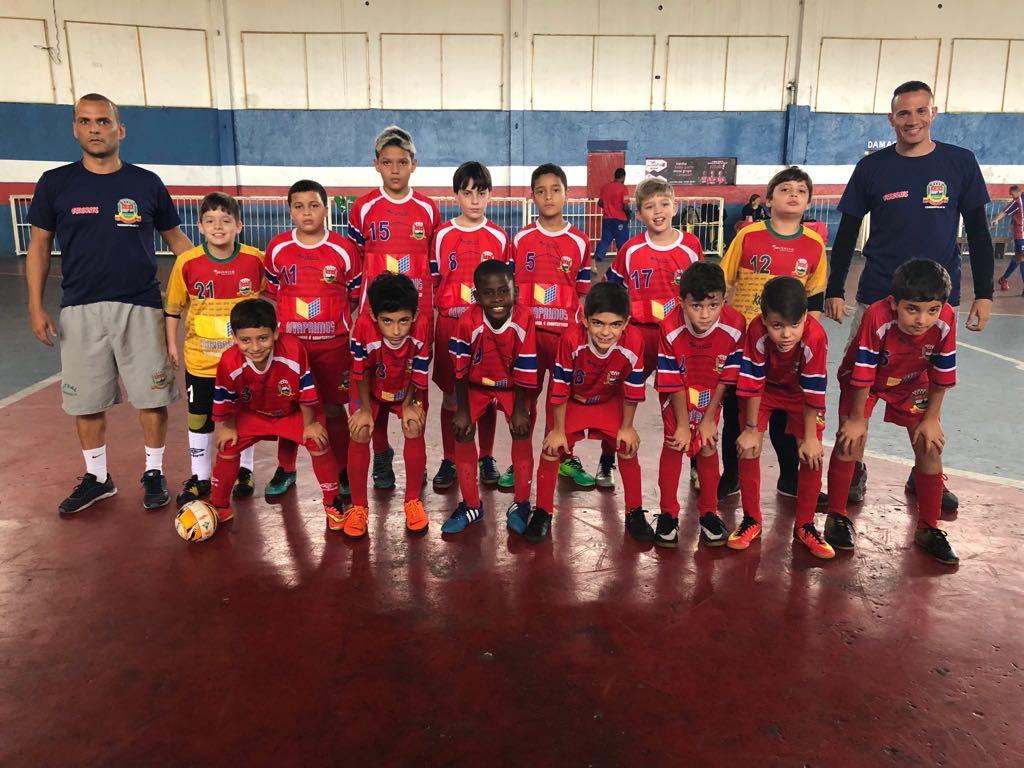 Sub 11 avança para Semifinal no Carioca de Futsal