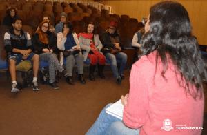 CULTURA REALIZA ENCONTRO COM MÚSICOS E ARTISTAS CÊNICOS DE TERESÓPOLIS