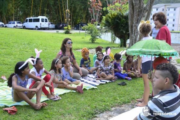 Grupo Pirueta faz a festa do público com diversão e também reflexões sobre a arte e o bem que ela produz