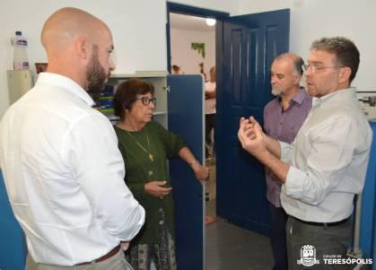 Em visita ao 2º distrito, Prefeito Vinícius Claussen anuncia ações para o interior