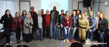 Participantes da reunião de mobilização intersetorial do program Busca Ativa Escolar