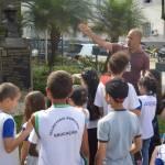 ALUNOS DA ESCOLA ALBINO TEIXEIRA DA ROCHA PARTICIPAM DO PROJETO 'OLHAR TERESÓPOLIS'