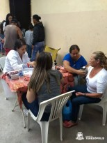 Ação de saúde atende moradores de Sebastiana e arredores