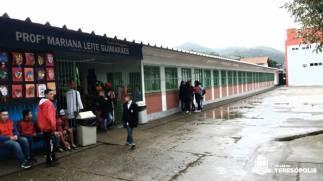 A escola de Bonsucesso atende cerca de 600 alunos
