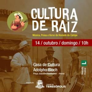 CULTURA DE RAIZ MOVIMENTA FERIADÃO EM TERESÓPOLIS