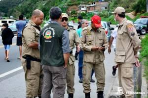 SIMULADO DA DEFESA CIVIL DE TERESÓPOLIS É REALIZADO COM SUCESSO NO VALE DA REVOLTA