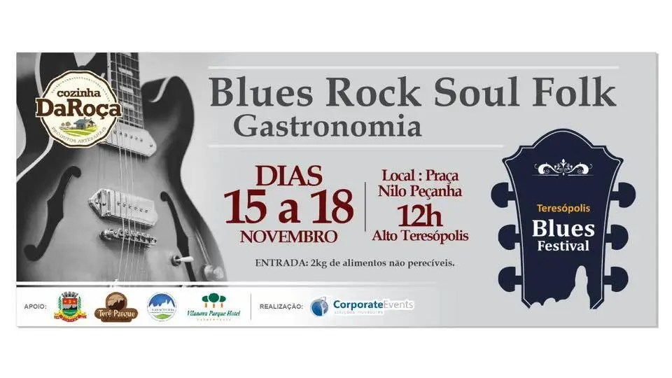 III Teresópolis Blues Festival anima feriadão na cidade