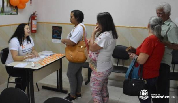 Ação 'Dezembro Laranja' de prevenção e combate ao câncer de pele no CES da Várzea