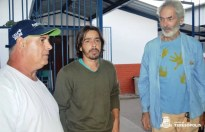 Produtores rurais João Gallo, Luiz Fernando da Silva Branco e Beto Selig, participantes da Chamada Pública
