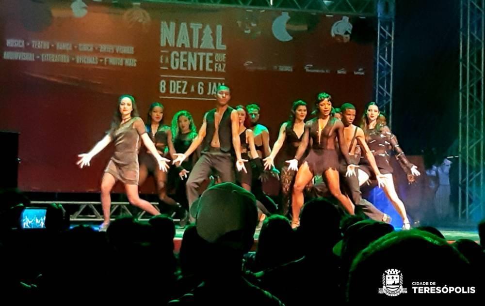 Espetáculos de música e de dança movimentam o Teatro Municipal e a Praça Olímpica