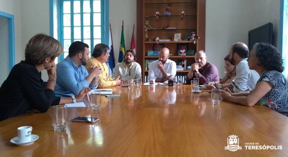 Prefeitura e Ministério da Ciência e Tecnologia discutem projetos de inovação tecnológica
