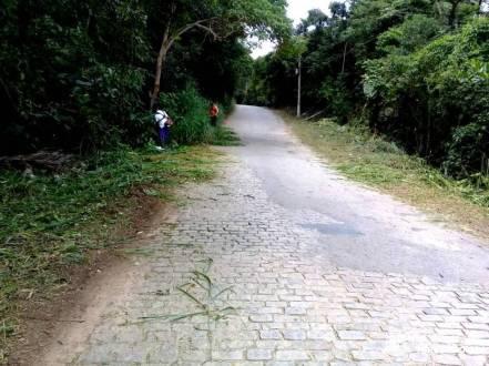 Roçada e limpeza na Comunidade do Cruzeiro