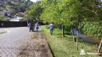 limpeza Rua Beira Rio, em Araras