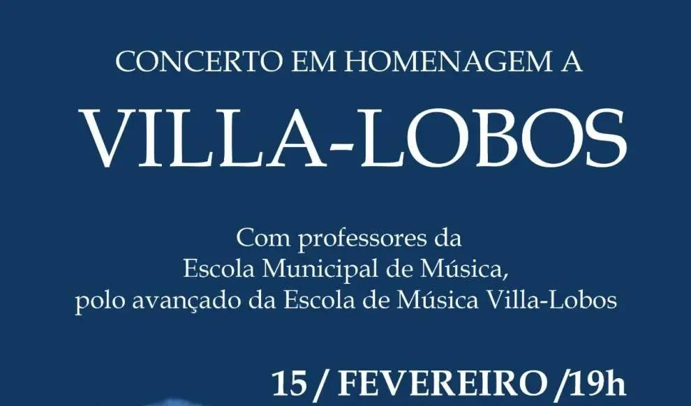 Concerto abre temporada de cursos do Polo Teresópolis da Escola Villa-Lobos