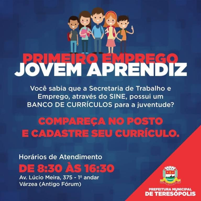 PRIMEIRO EMPREGO - JOVEM APRENDIZ