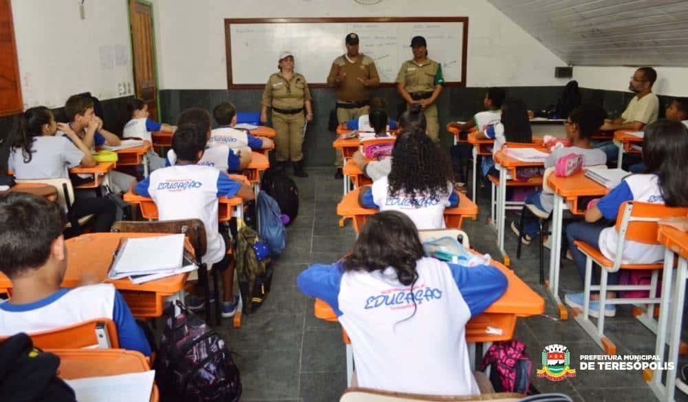 Guarda Municipal volta a atender escolas municipais com as equipes da Ronda Escolar