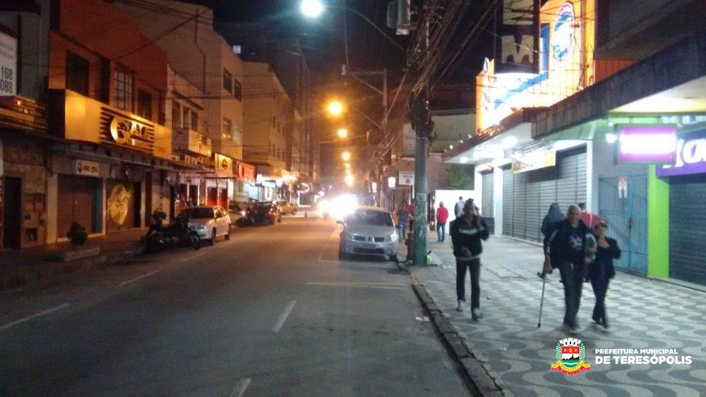 Av. Delfim Moreira, Rua Tenente Luiz Meirelles, e Quinta Lebrão têm iluminação recuperada