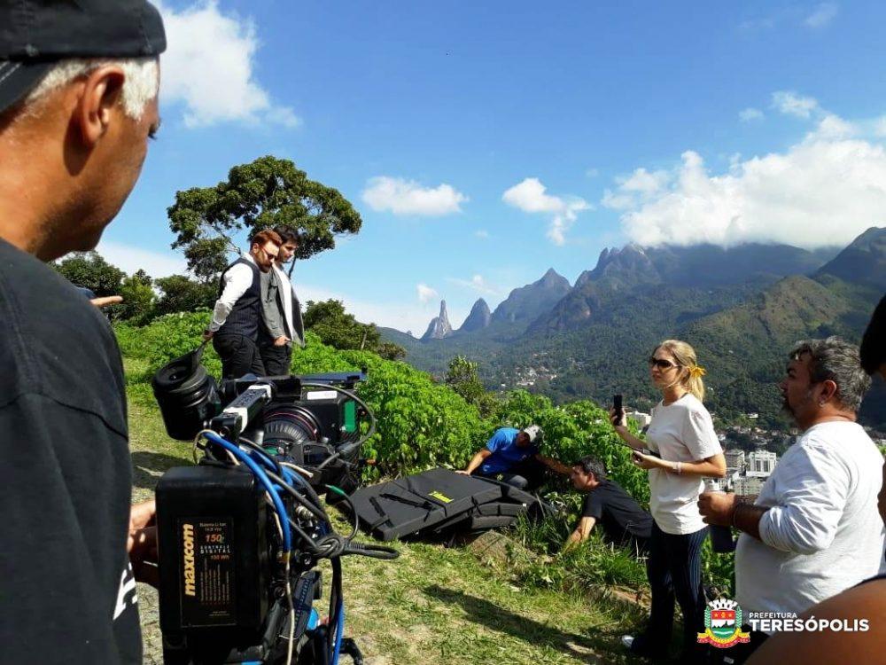 Teresópolis é cenário para novela da Record TV