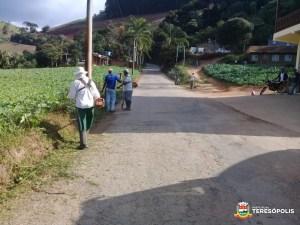 20 bairros de Teresópolis recebem obras de asfaltamento, drenagem e limpeza urbana