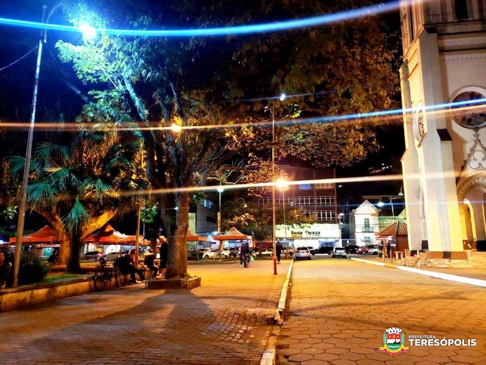 Prefeitura investe mais de R$ 1,2 milhão na manutenção, ampliação e modernização da iluminação pública