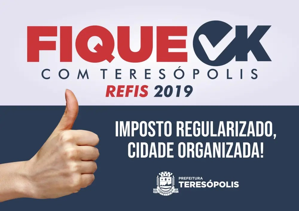 'Fique Ok com Teresópolis': Adesão à campanha de renegociação de dívidas municipais vai até 10 de julho