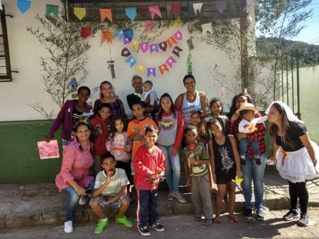Diversão aliada aos cuidados com a saúde no PSF da Granja Guarani