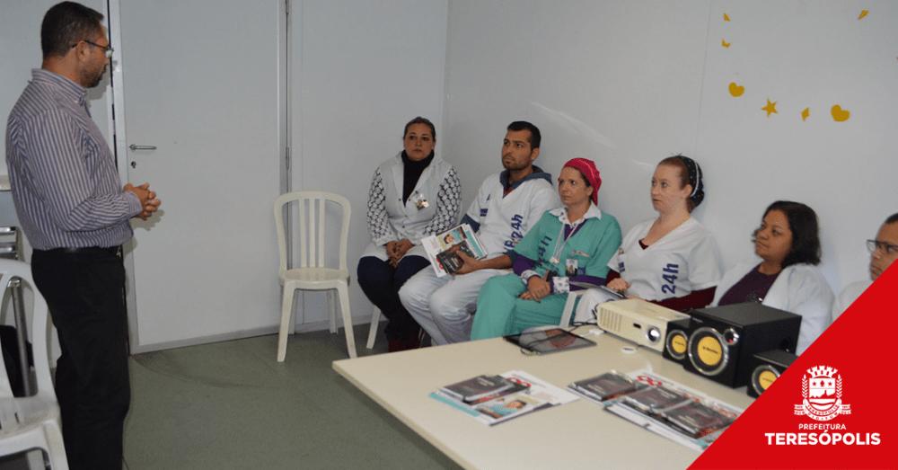 Servidores da UPA de Teresópolis recebem curso de capacitação do Governo do Estado
