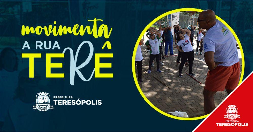 Atividades esportivas do 'Movimenta a Rua Terê' acontecem no Corta Vento neste domingo, 18