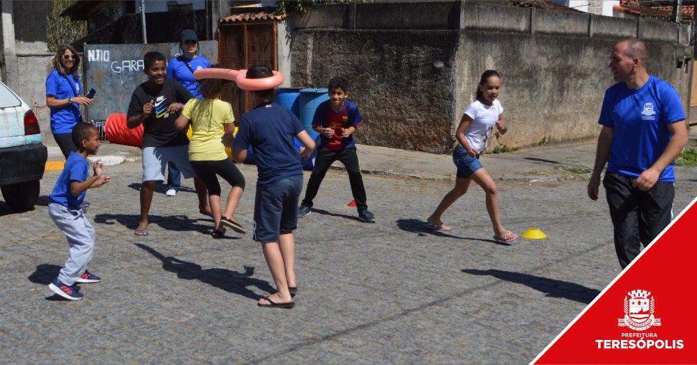 Moradores do Corta Vento aproveitam o projeto 'Movimenta a Rua Terê'