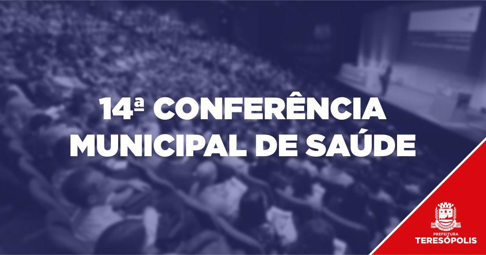 14ª Conferência de Saúde de Teresópolis acontece neste sábado (26)
