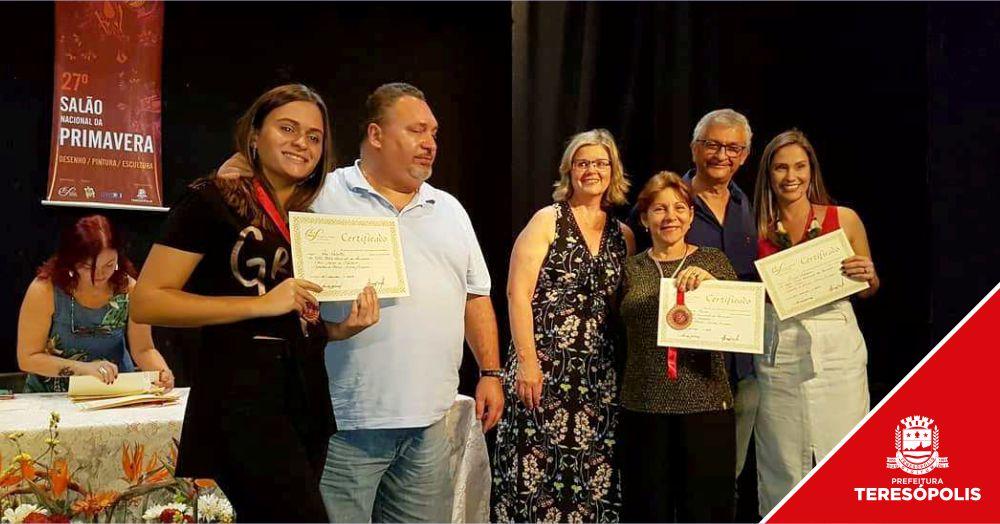 27º Salão Nacional da Primavera Soarte premia artistas na Casa de Cultura