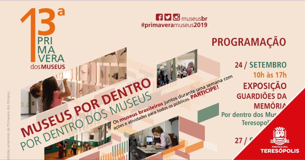 Casa da Memória participa da 13ª Primavera dos Museus