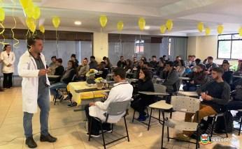 Conscientização sobre a campanha Setembro Amarelo no PSF do Alto
