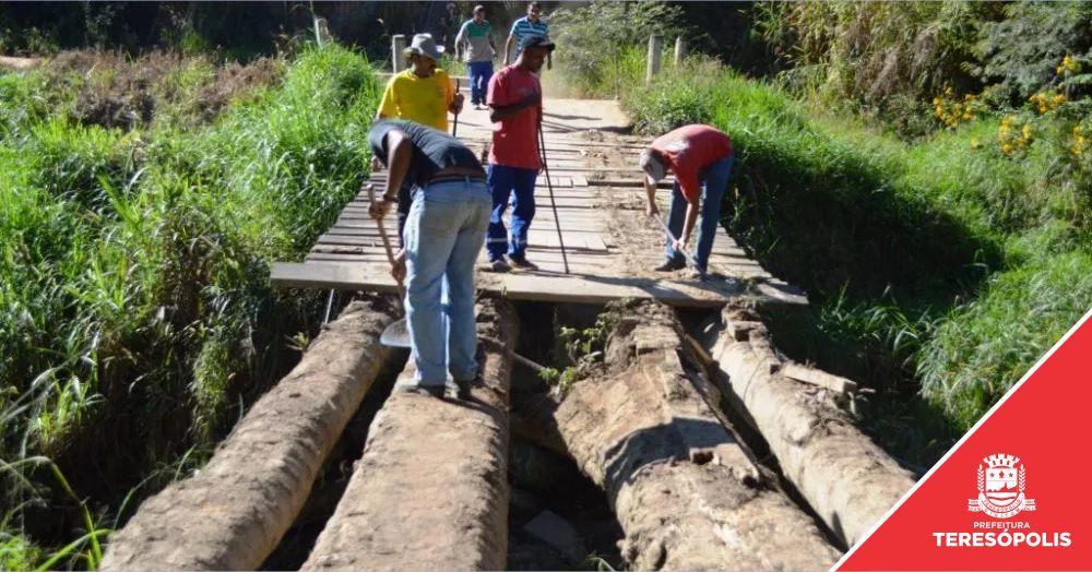 Por segurança, Ponte do Madruga (2º Distrito) fica interditada para caminhões