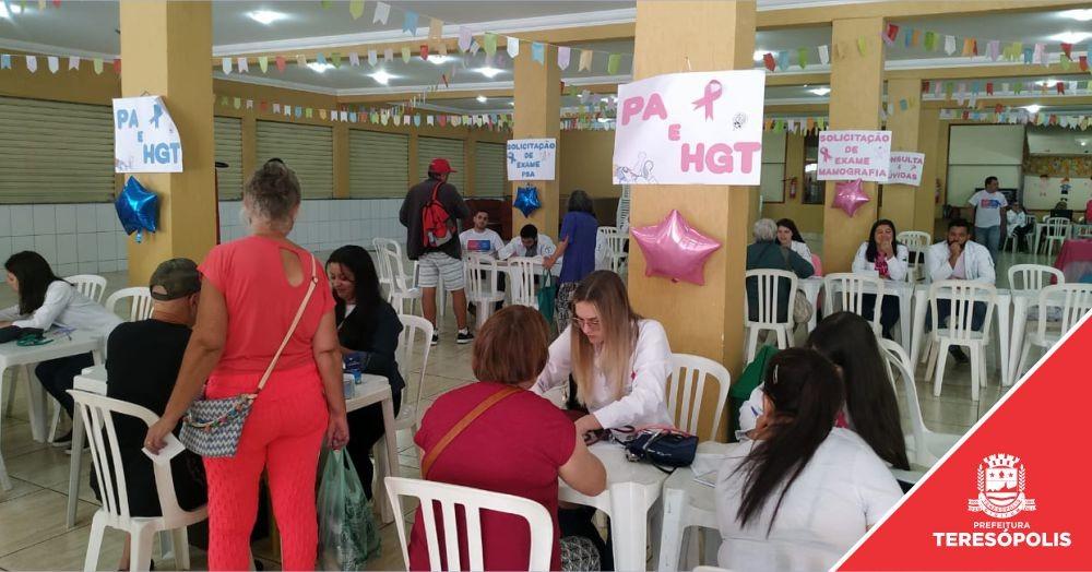 Unidades de Saúde promovem atividades pela campanha de prevenção 'Outubro Rosa'