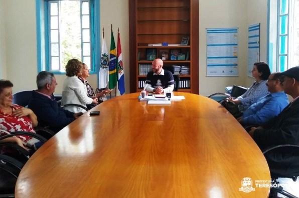 Teresópolis recebe visita da Governadora do Rotary